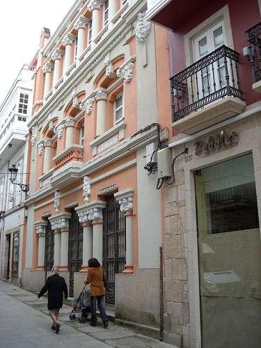 Edificio restaurado en Betanzos