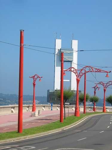Farolas de Coruña