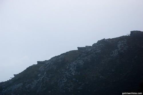 Silueta de Cabo Silleiro