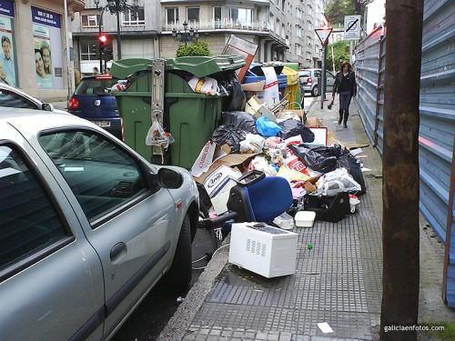 Huelga de basureros