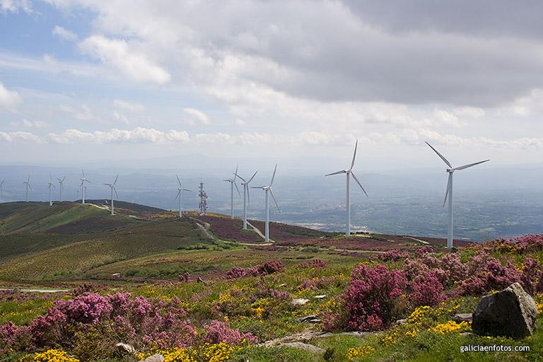 Vista panorámica desde el Monte Meda (foto: galiciaenfotos.com)