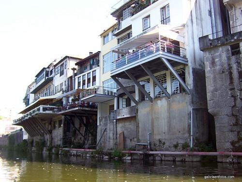 Restaurantes sobre el río