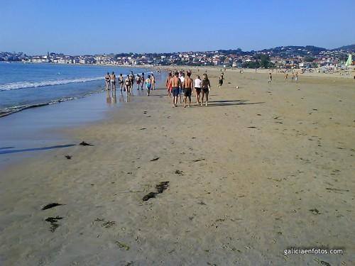 Segundo día de playa
