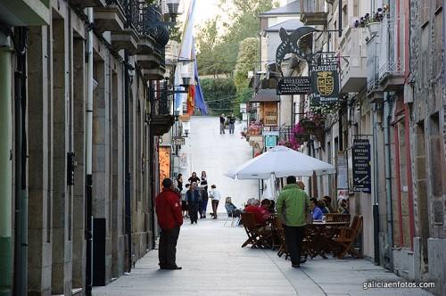 Por las calles de Sarria