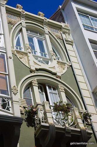 Detalles de una fachada