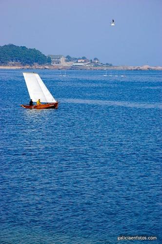 Barca en Ribeira