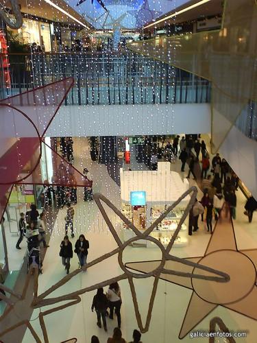 Centro comercial de navidad