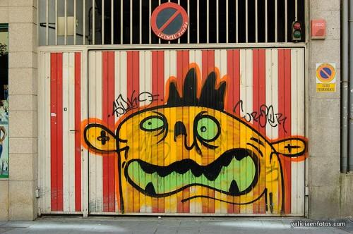 Graffiti de garaje