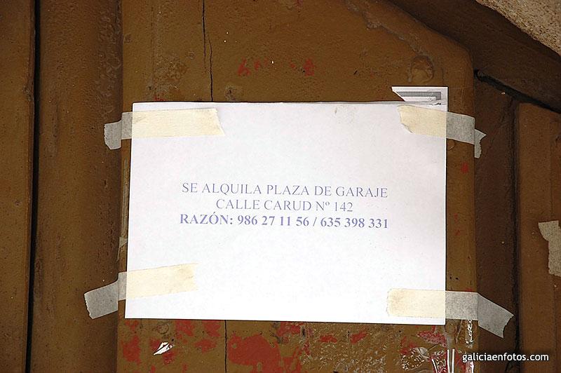 Lugo for Se alquila plaza de garaje