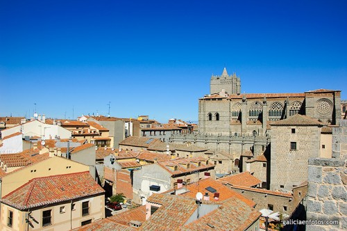La catedral desde las murallas