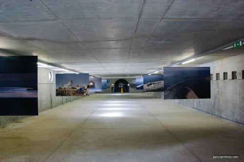 Túnel bajo el espigón