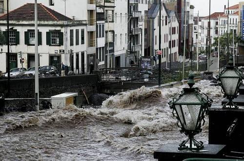 Desastre en Madeira