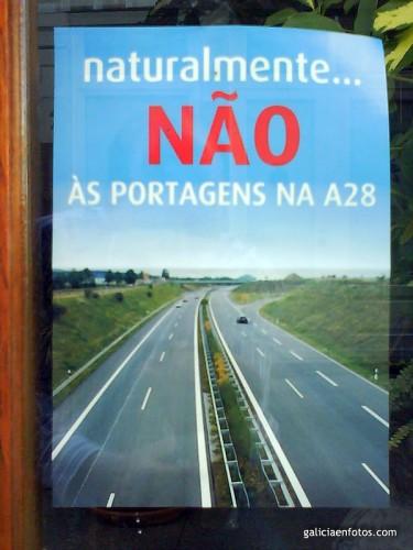 Peajes en la A28