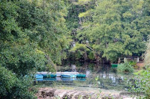 El río en Allariz