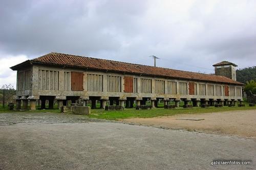Horreo del monasterio