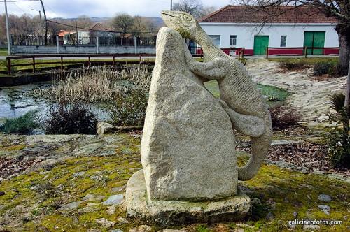La piedra del lagarto
