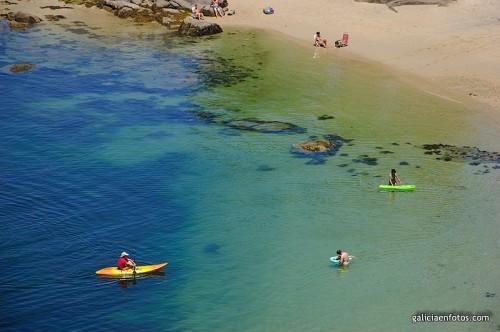 Playa en la Isla de Arosa