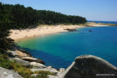 Playa de la Isla de Arosa