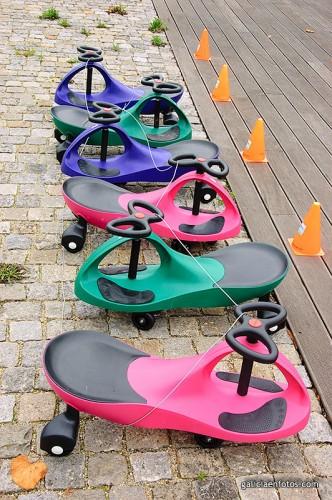 Cochecitos sobre ruedas