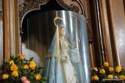Virgen en Caión