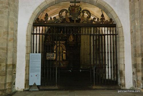 Entrada al Panteón de Gallegos Ilustres