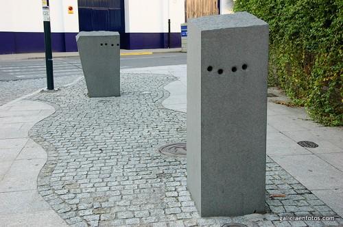 Estatuas con agujeros
