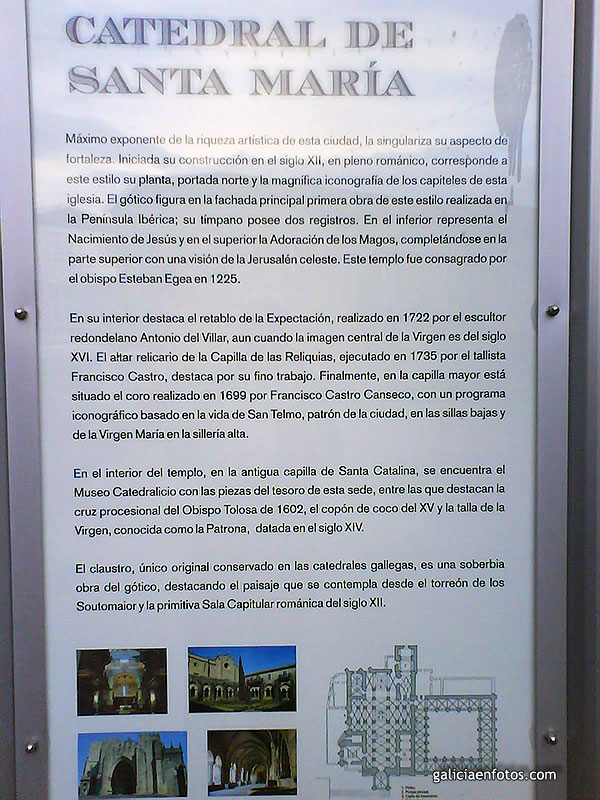 Cartel de la Catedral