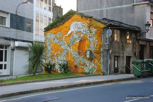 Grafitti amarillo