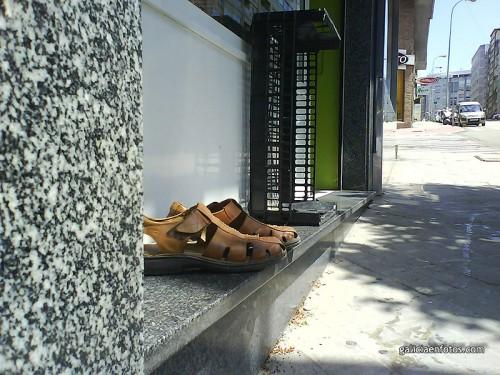 Monumento al peregrino en Vigo