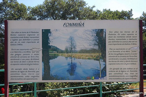 Cartel de Fonmiñá
