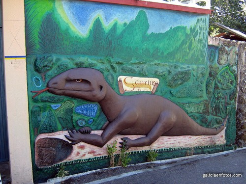 El dinosaurio de Carregal