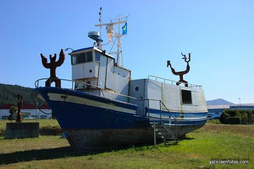 Barco decorado