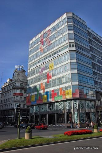 Tetris en Coruña