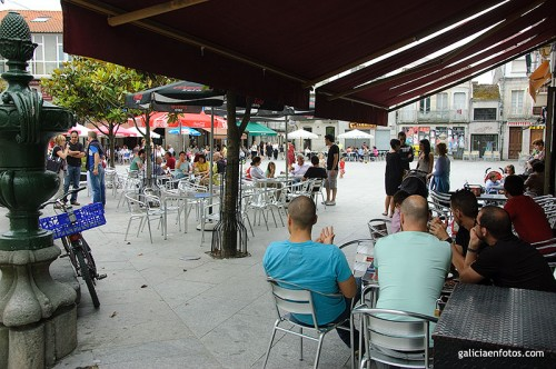 Plaza Mayor de Xinzo