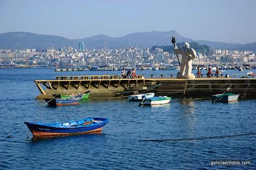 Vista de Vigo desde Moaña