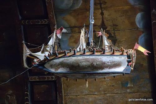 Barco en el techo