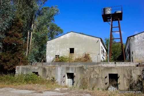 Edificio minero en ruinas