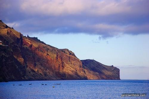 Acantilado en Madeira