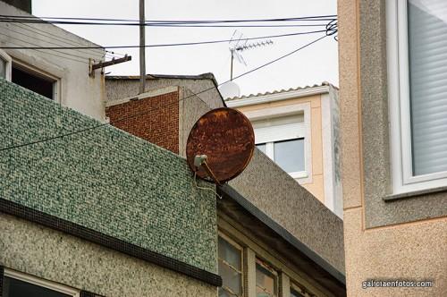 Antena corroida