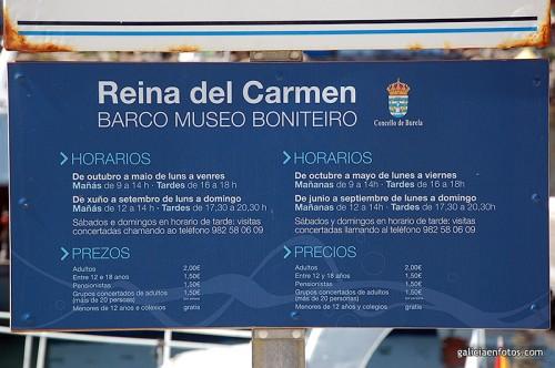 Horarios del Reina del Carmen