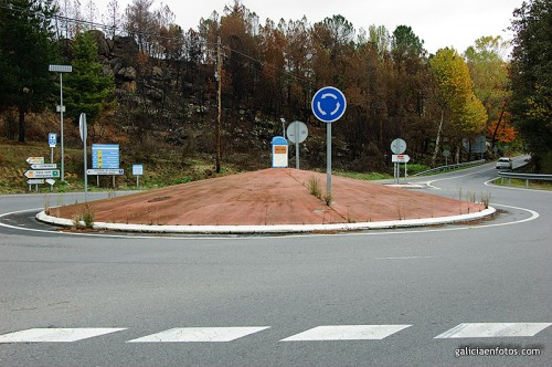 Rotonda del mojón kilométrico