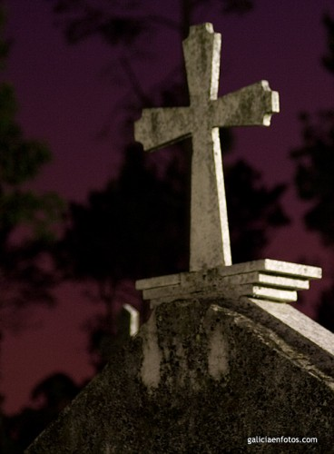 De visitas al cementerio