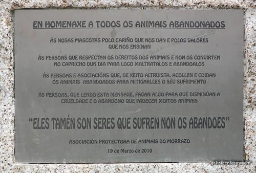 Monumento a los animales abandonados
