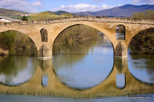 El puente de Puente de la Reina