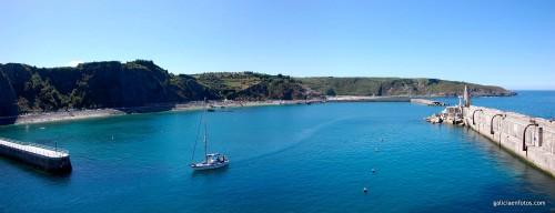 Puerto de Luarca y playas