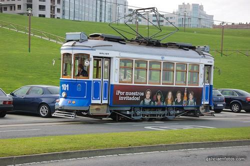 Tranvía de Coruña
