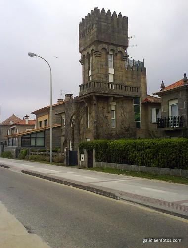 Casa con torreón
