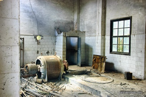 Interior de una ruina